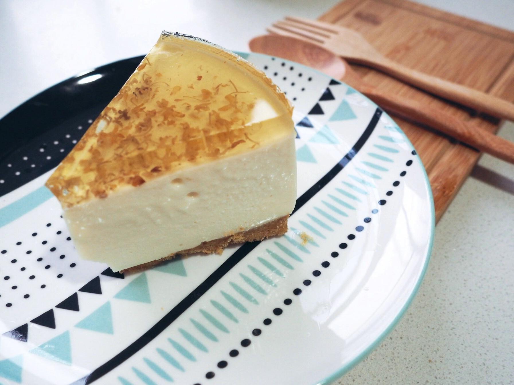 桂花豆腐芝士蛋糕