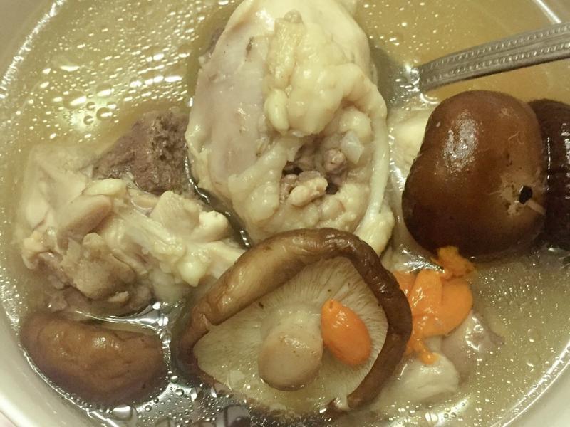 香菇雞湯 簡單電鍋版