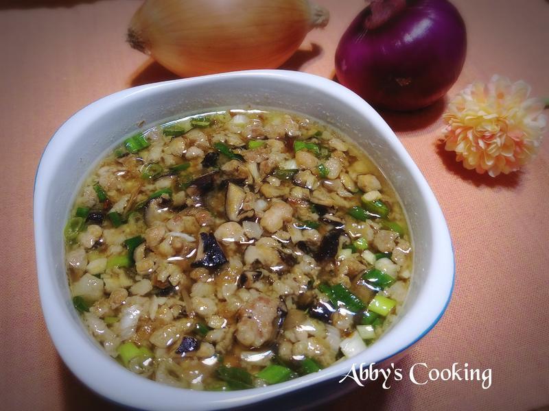 滷香菇肉燥(麵包機)