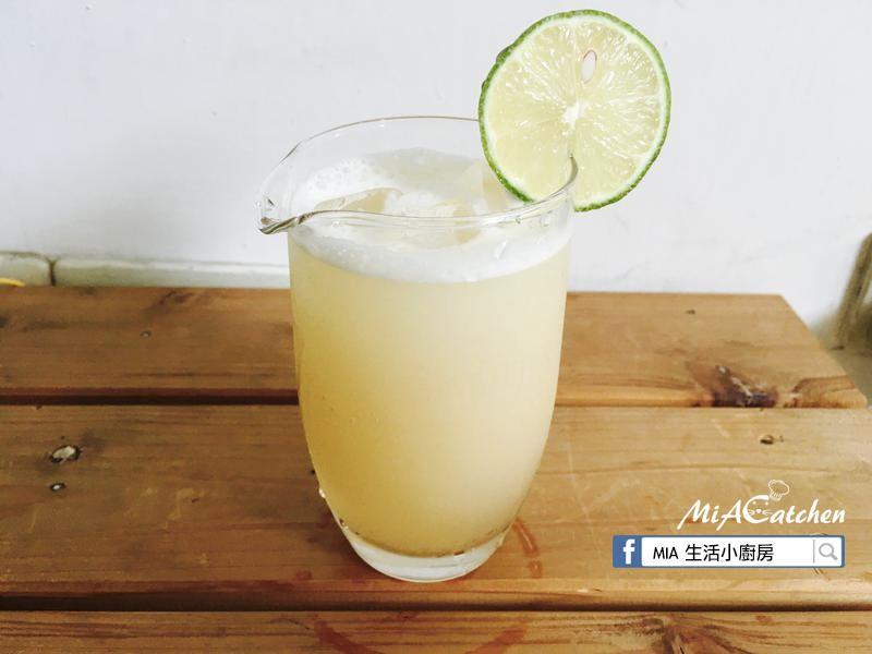 輕飲品-檸檬蜂蜜薑汁凍飲