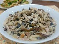 ◆瑪菲蘇◆日式味噌菇菇肉絲炒