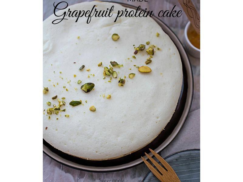 柚子蛋白蛋糕(電飯煲版)