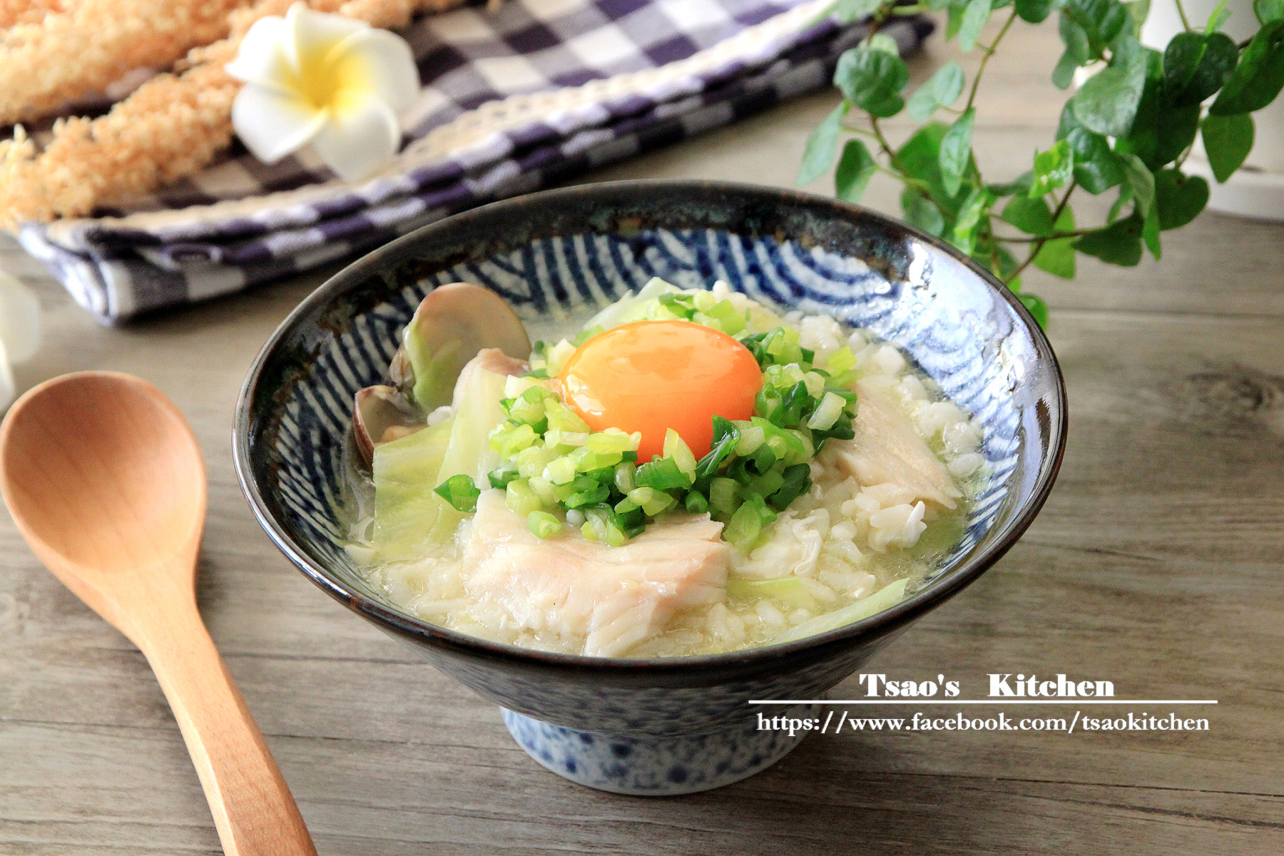 窩蛋魚片粥【全聯24節氣料理】