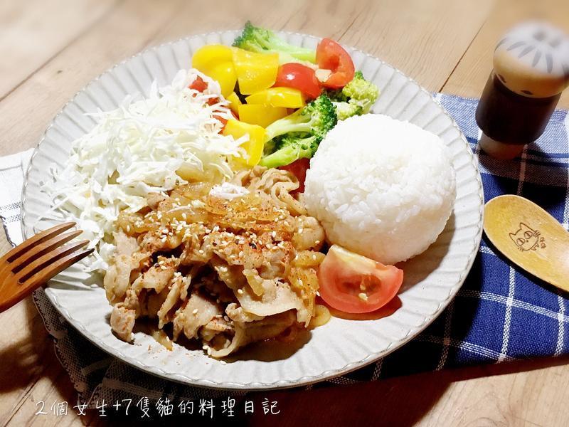 日式家庭味-薑汁燒肉