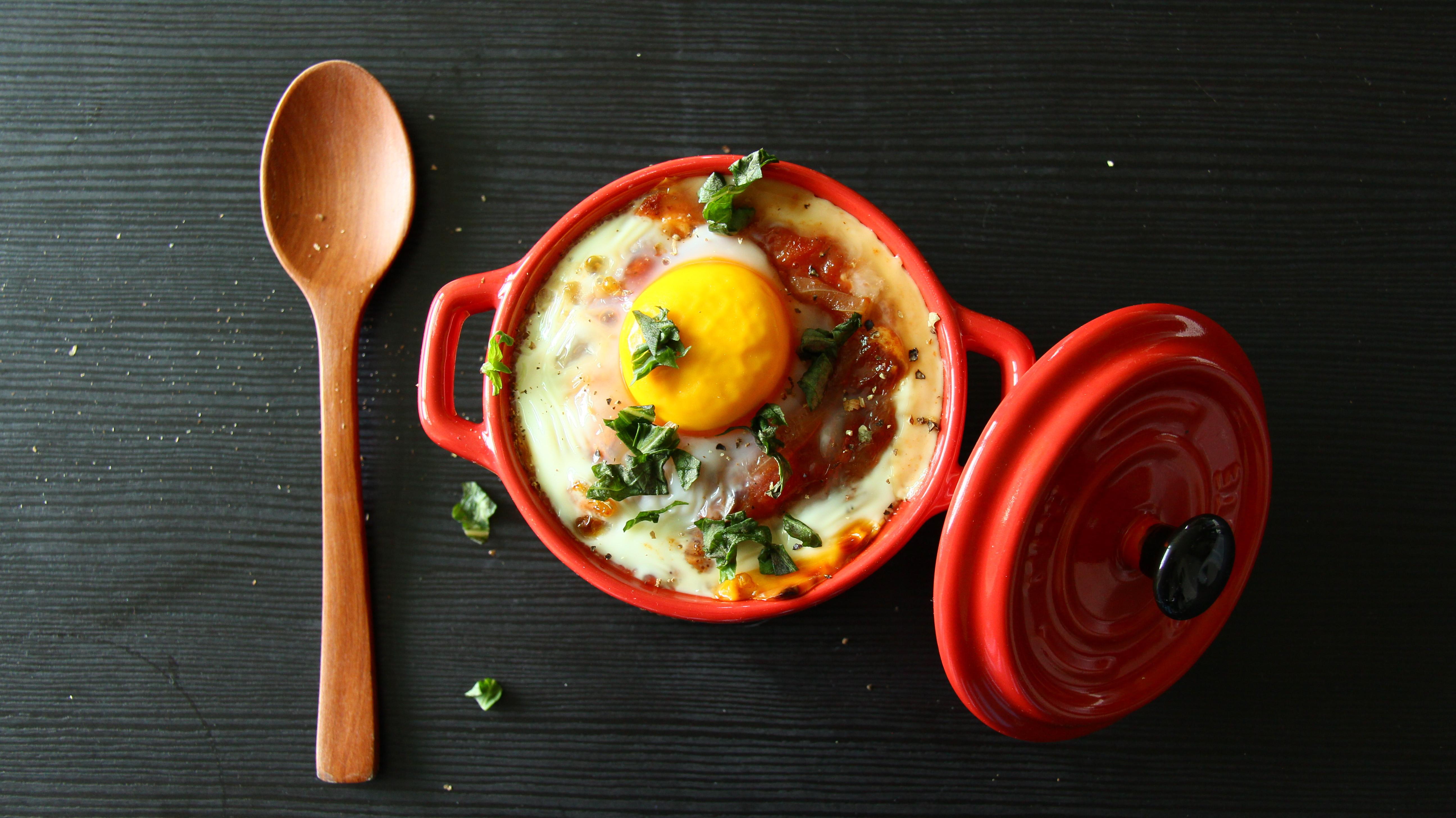 北非番茄半熟蛋