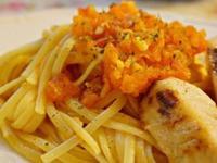 ♥艾薇廚房♥紅醬料理。蕃茄鯛魚義大利麵
