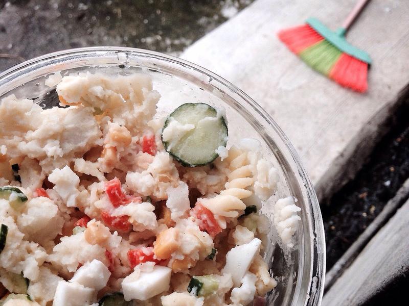 🌫馬鈴薯黃瓜玉米蛋沙拉
