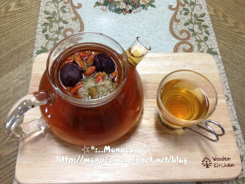 枸杞菊花紅棗明目養肝茶