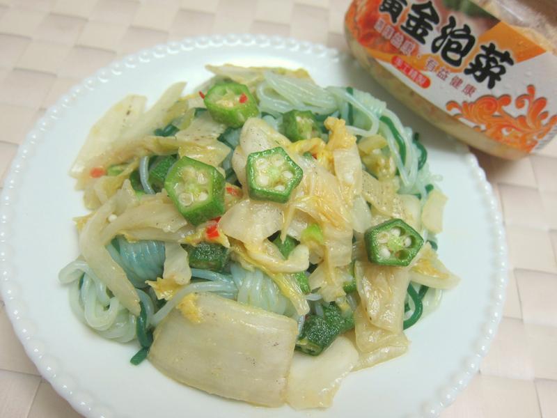 夏日低卡泡菜蒟蒻【益康黃金泡菜】
