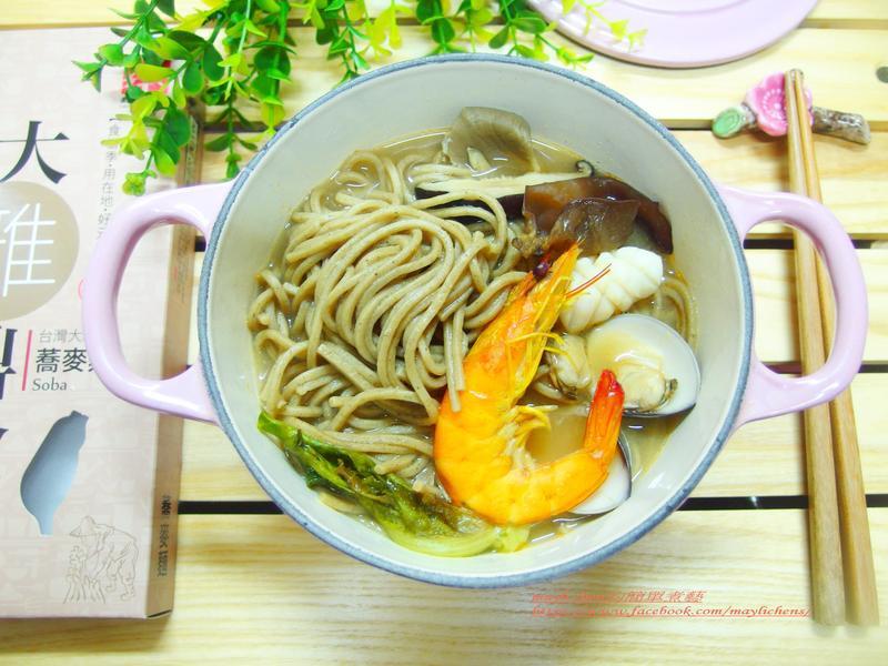 海鮮蕎麥麵