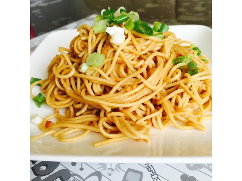 花生醬拌麵-五木拉麵