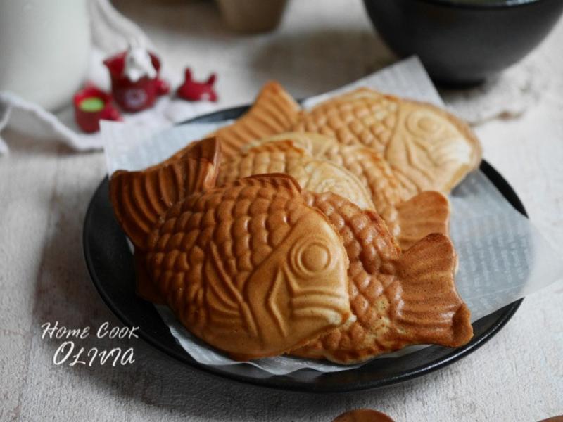 Olivia♥花生鬆餅鯛魚燒