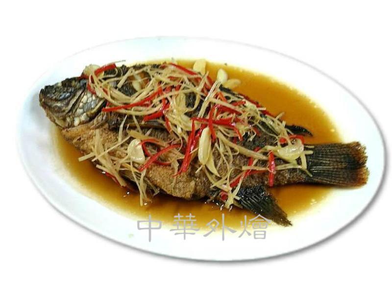 薑絲醬燒鮮魚【中餐丙級】