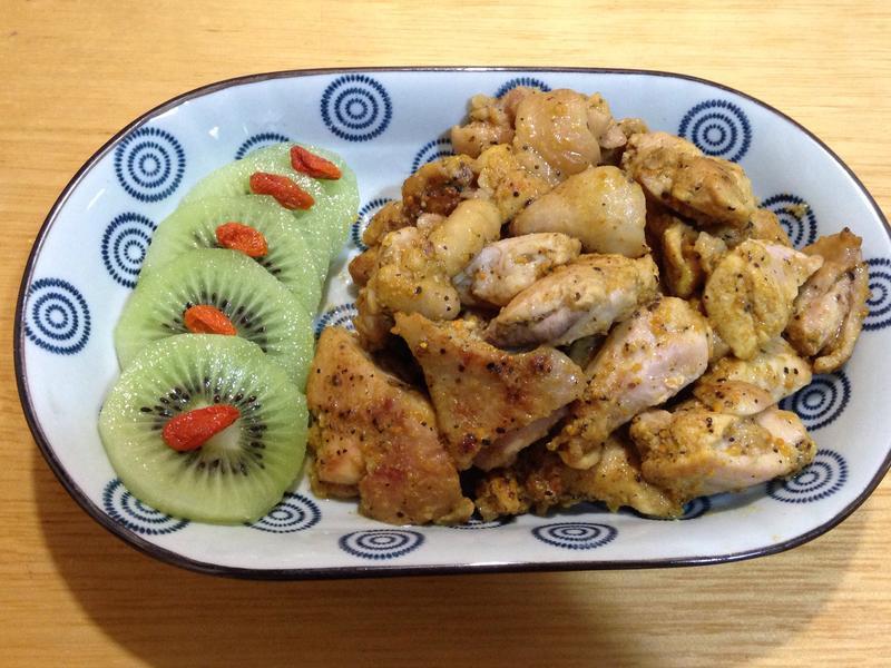 薑黃香煎雞腿肉