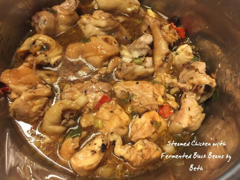豉汁蒸雞 - 電鍋料理