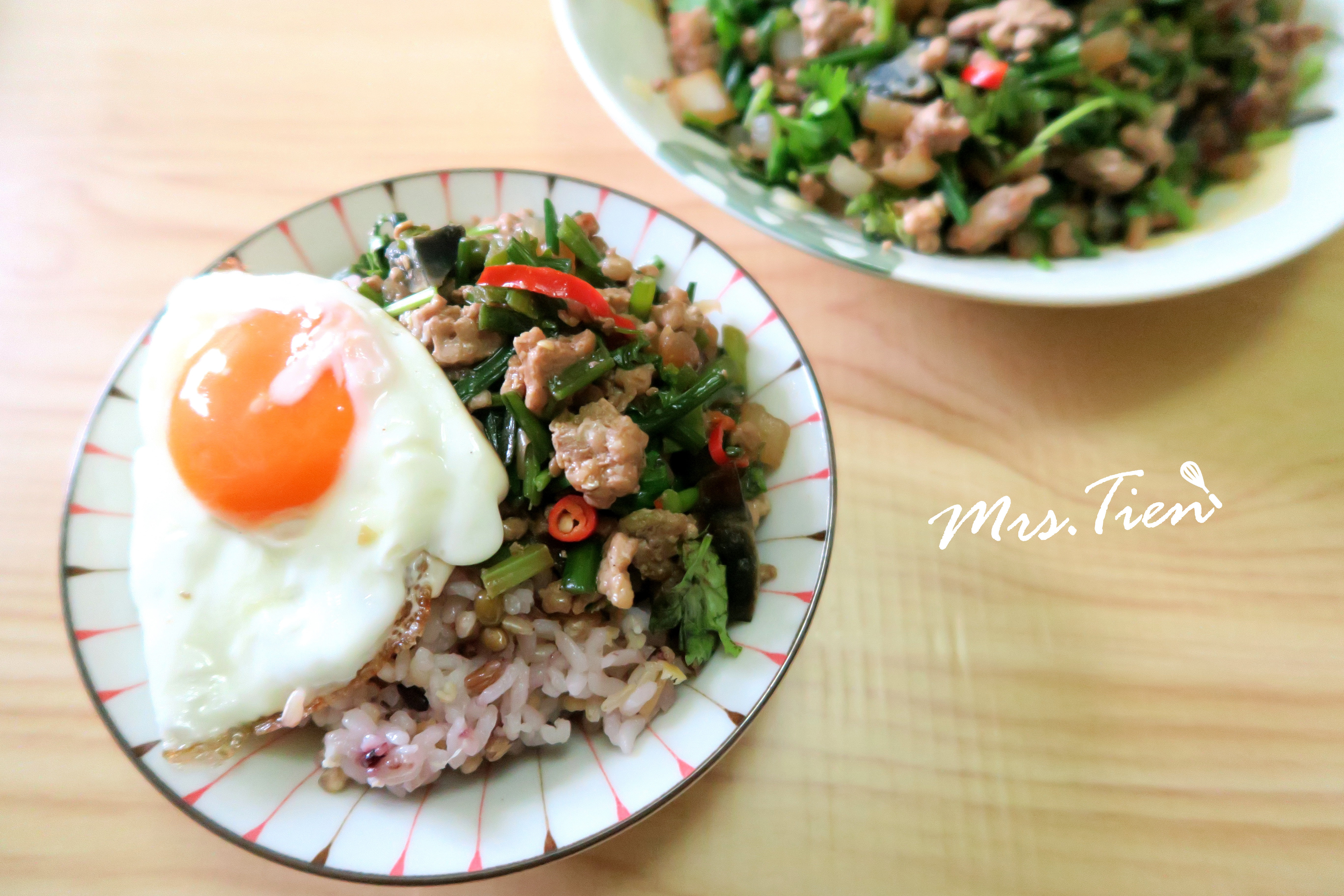 韭菜花炒肉末~ 簡單又下飯