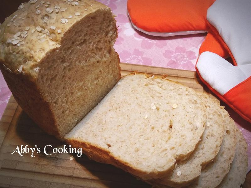 全麥優酪乳吐司(麵包機)