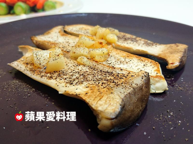 蒜香奶油杏鮑菇(5分鐘)