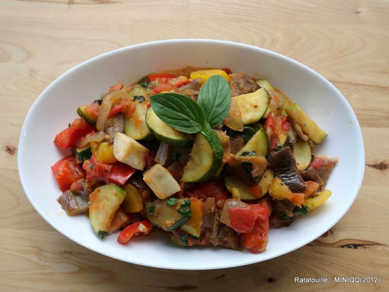 [MINIQQ食譜] 普羅旺斯燉菜/Ratatouille/法式燉蔬菜