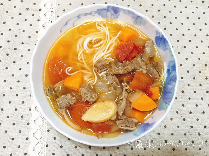 蕃茄清燉牛肉麵