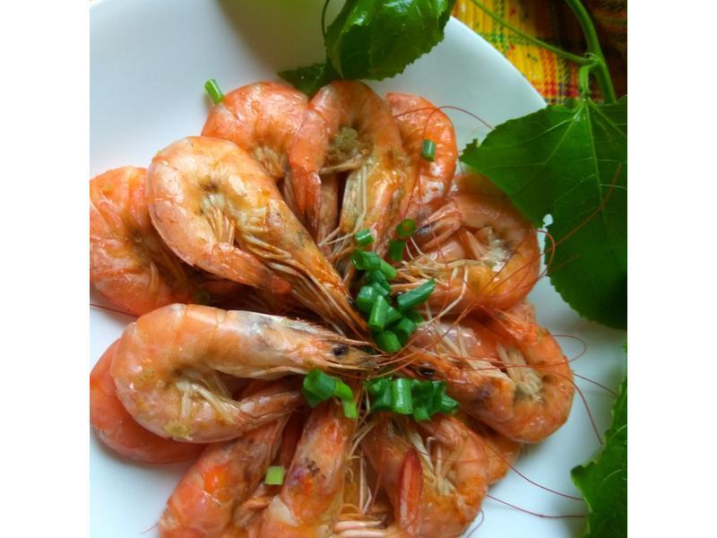 5分鐘電鍋料理-清蒸薑汁酒香蝦
