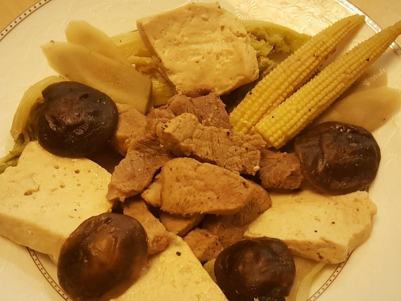 壽喜醬燒豬肉鮮蔬【複合料理無水鍋】