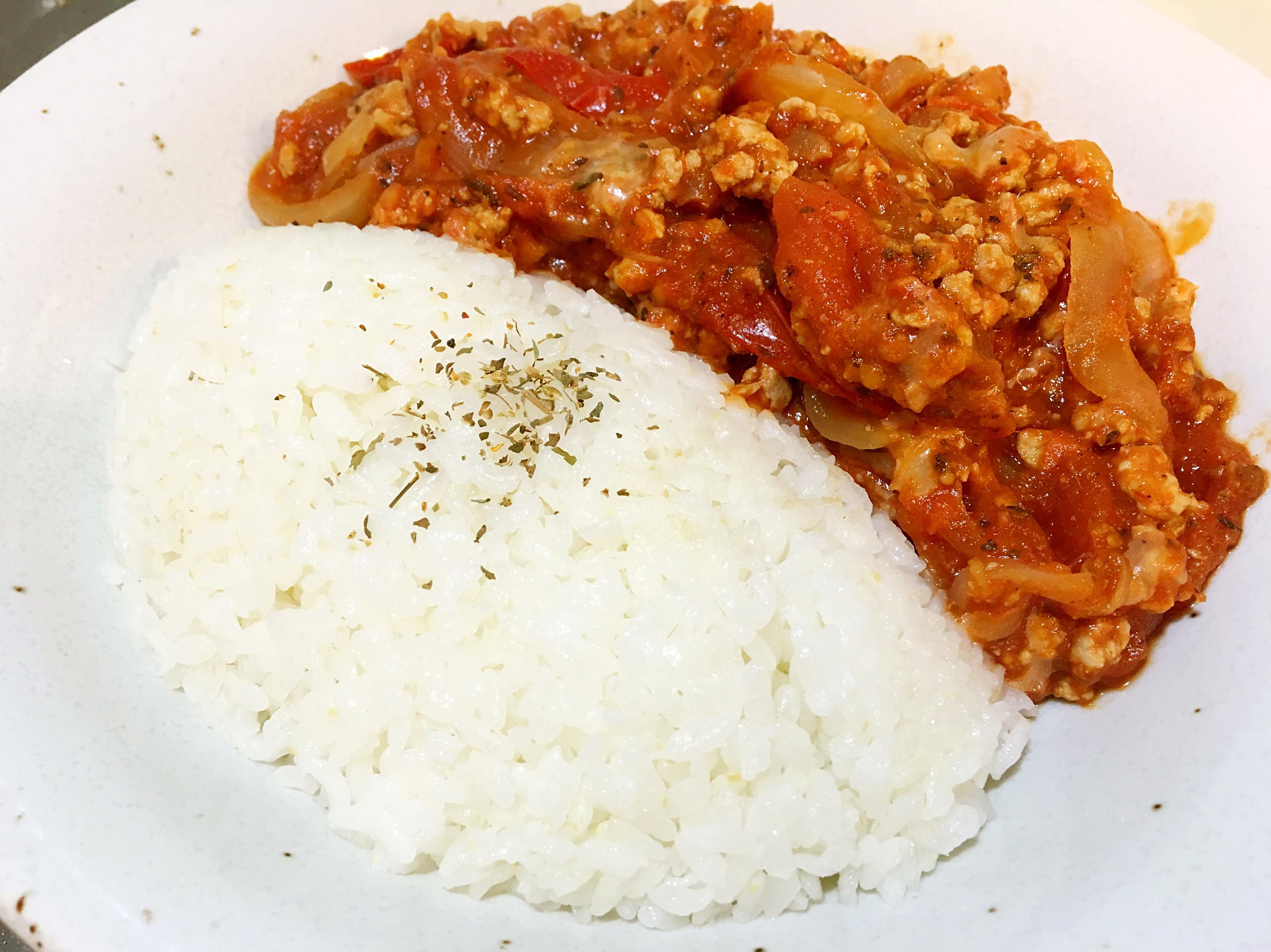 義式番茄肉醬飯(簡易版)