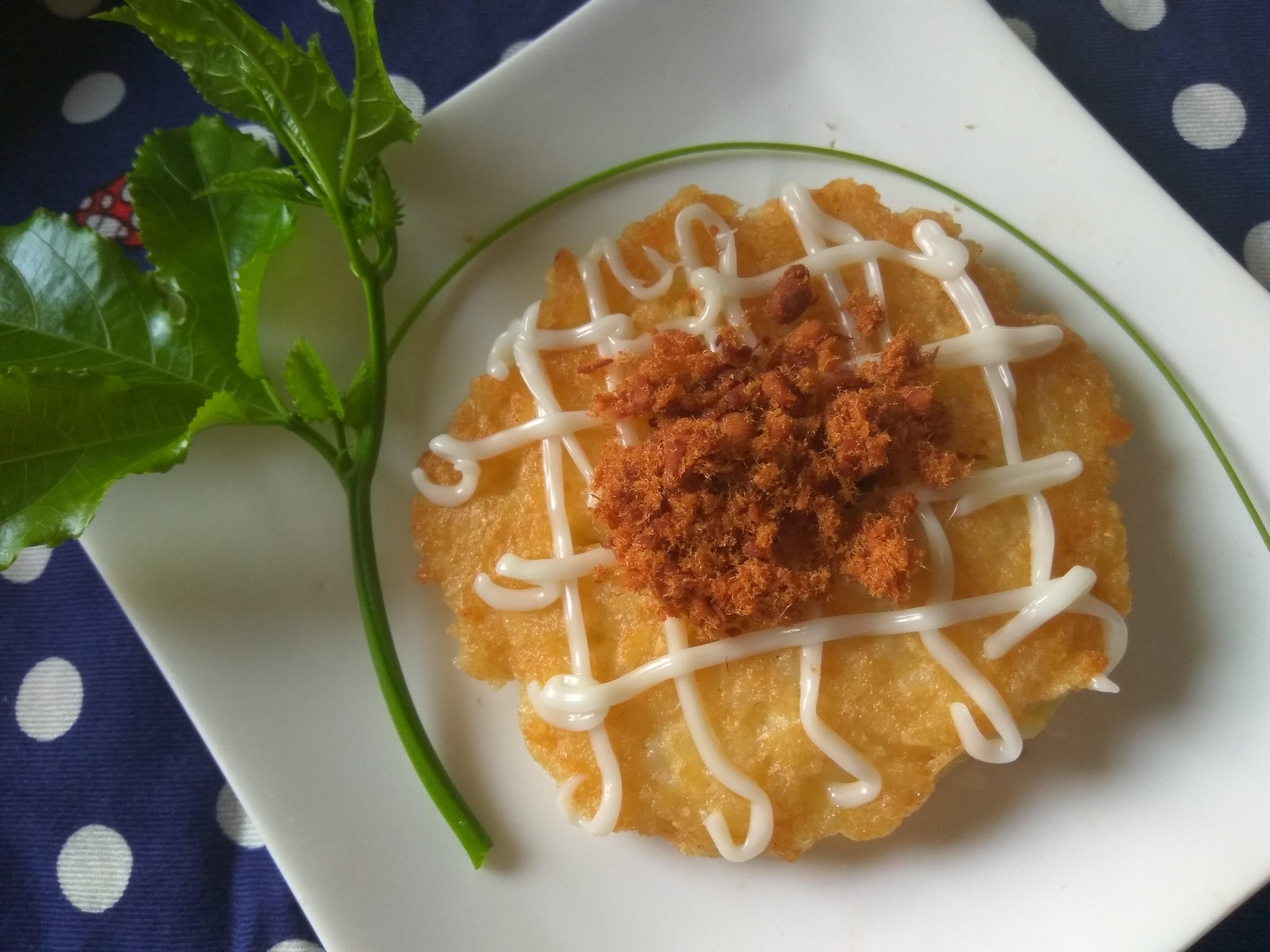 十分鐘早餐上桌─香煎肉鬆米蛋燒