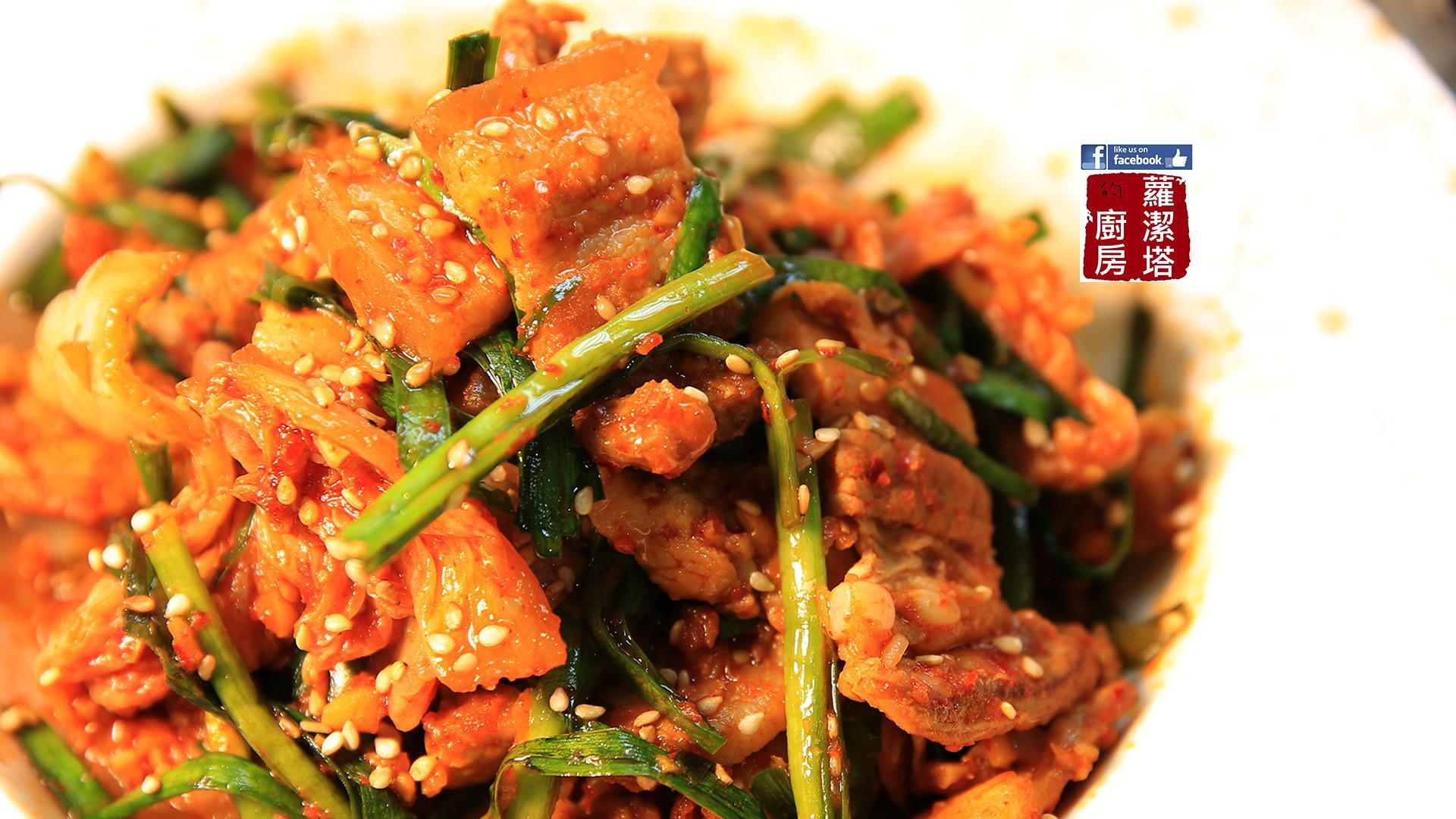 韓式泡菜炒豬肉,真的無敵下飯!