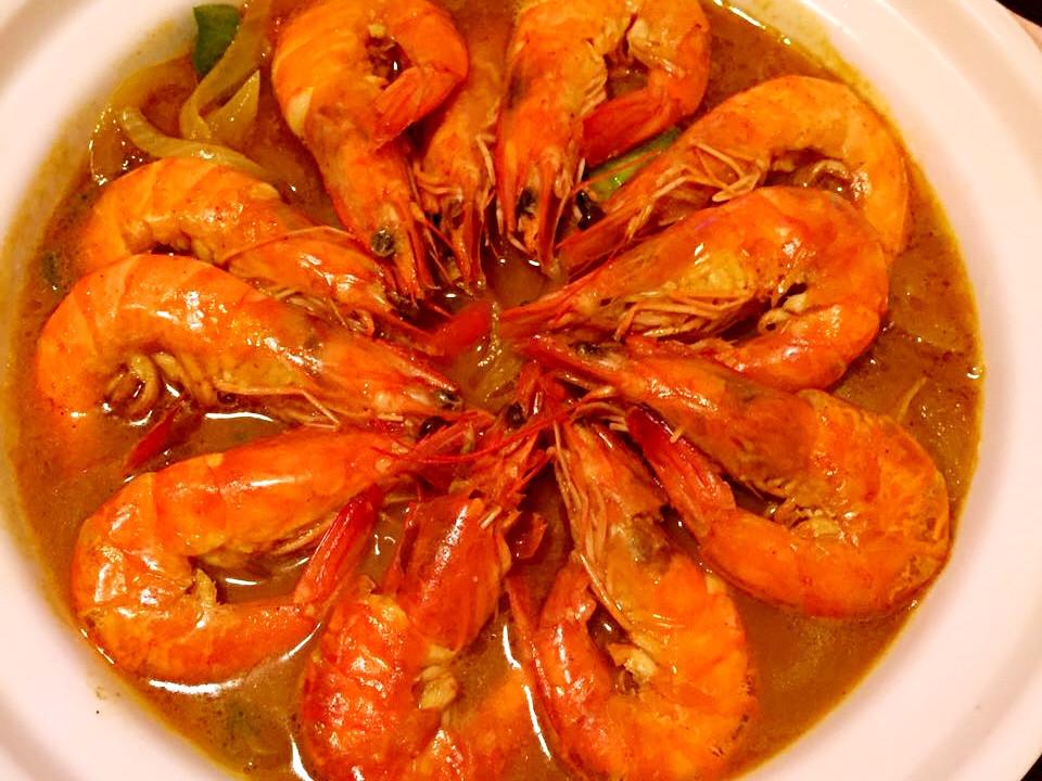 咖喱鮮蝦煲