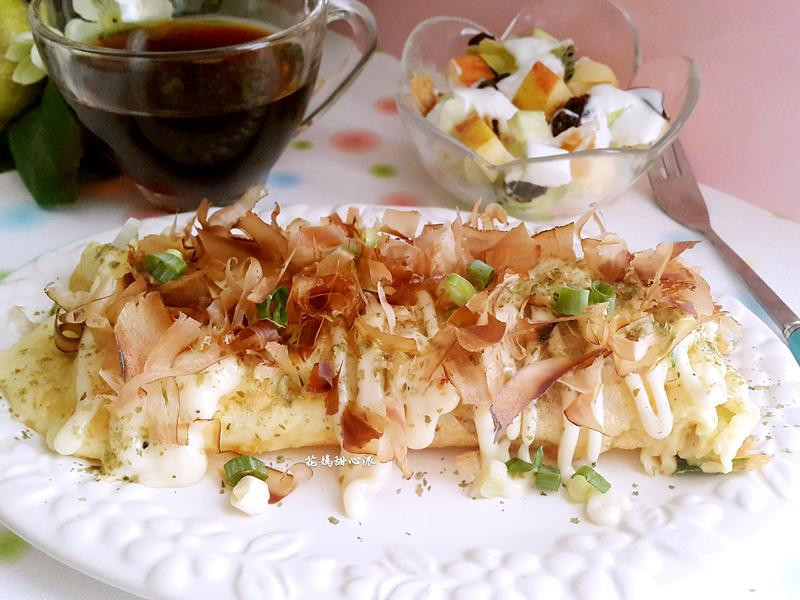 日式豆漿蛋餅燒