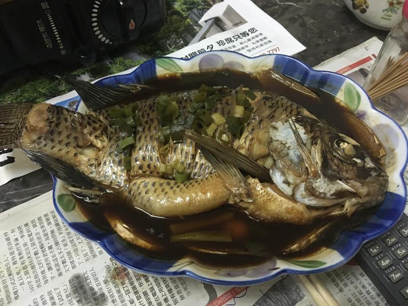 吳郭魚(清蒸)👍