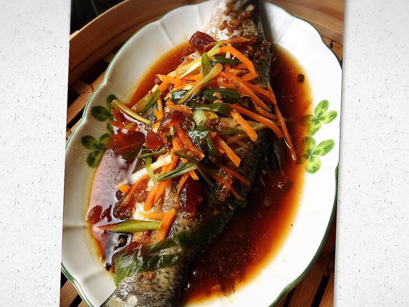鹹冬瓜蒸魚