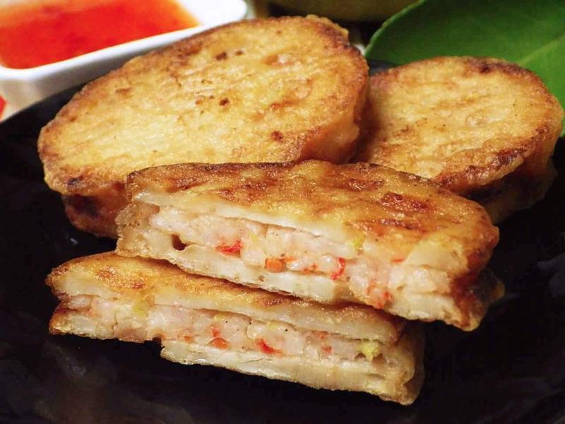泰式蓮藕蝦餅-健康廚房