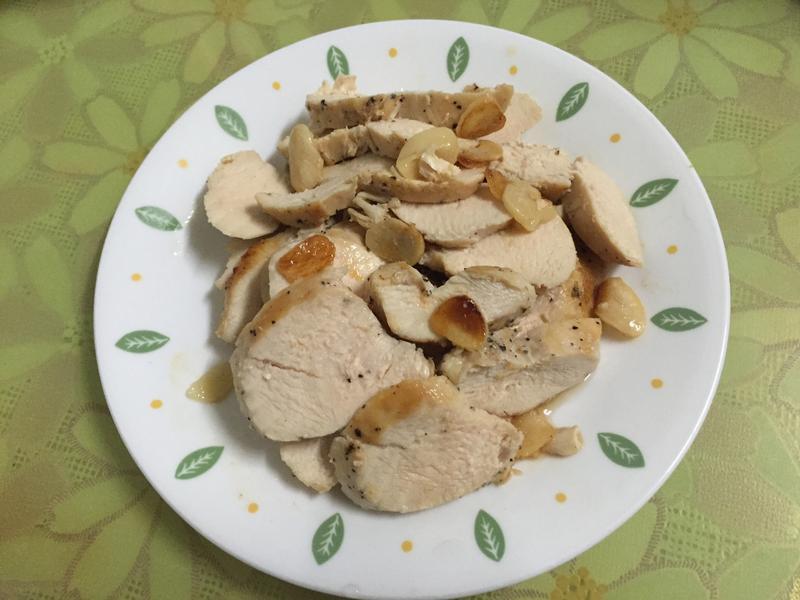 黑胡椒蒜香雞胸肉