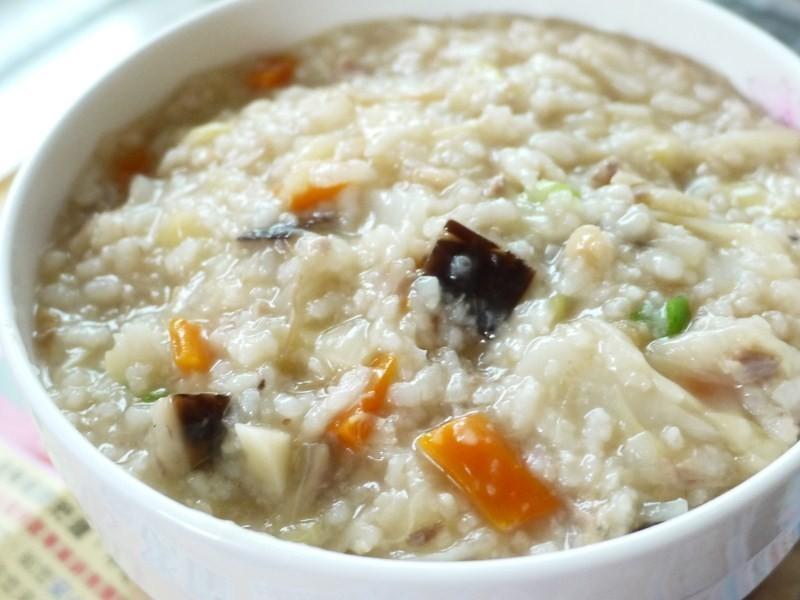 力力隨意煮-香菇肉粥/台式鹹粥