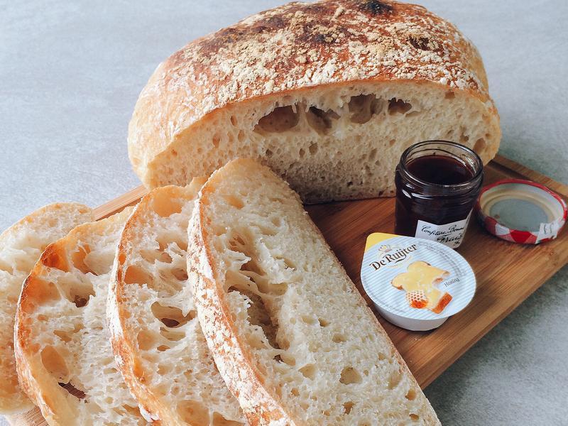 免揉搓日常麵包 Bread