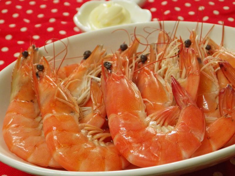 如何料理水煮蝦