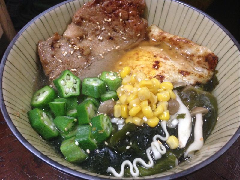 海陸鮮蔬拉麵