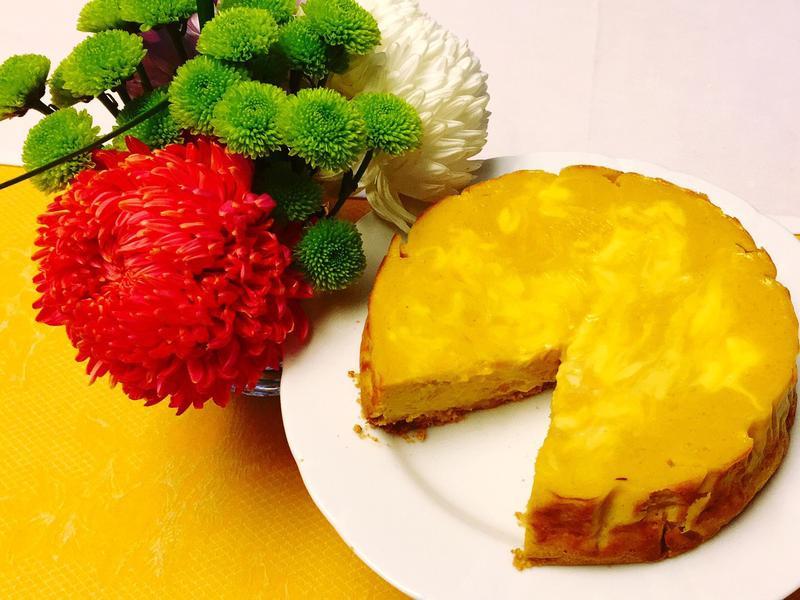 南瓜乳酪起司蛋糕