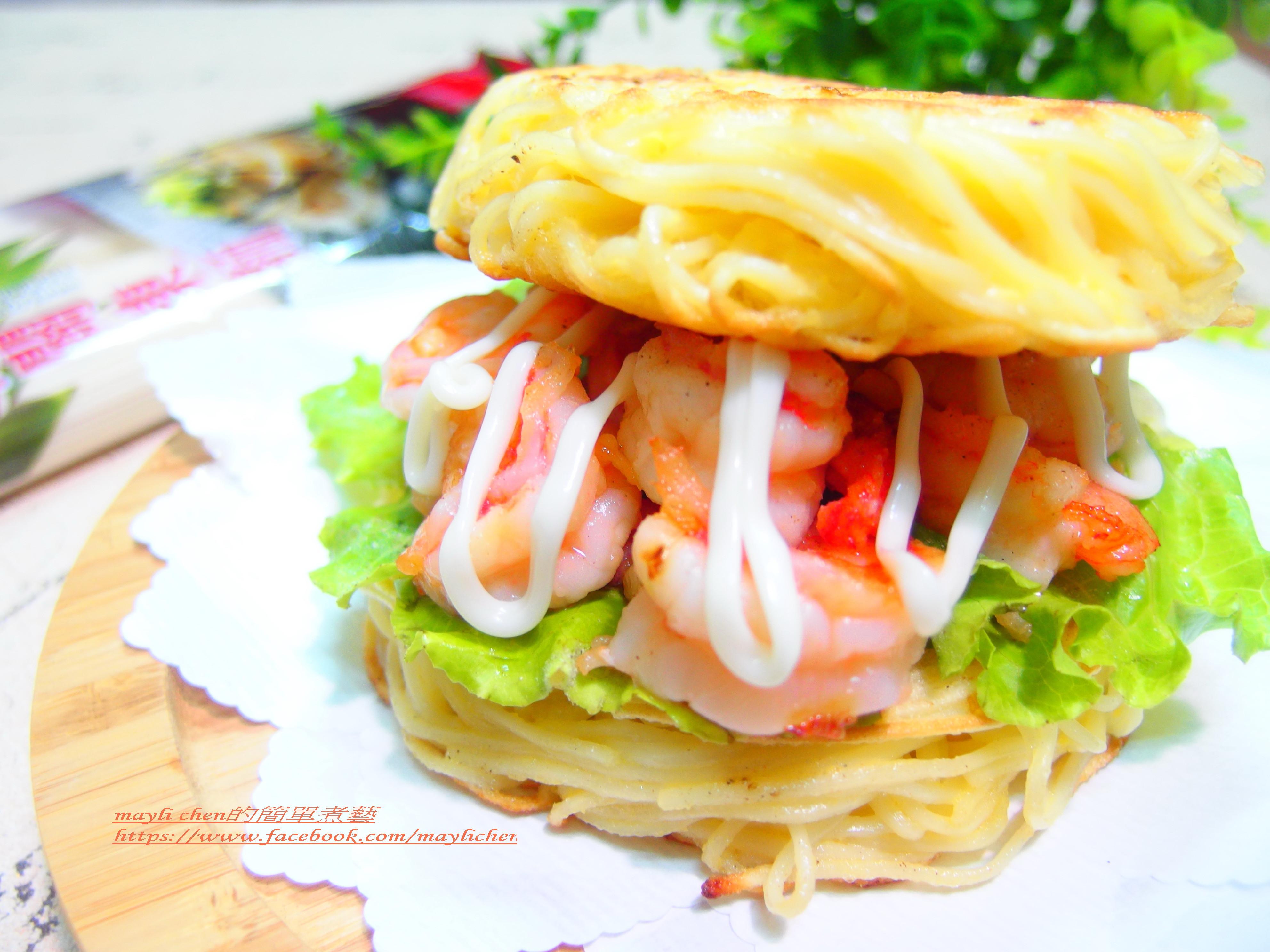 鮮蝦麵堡堡-五木拉麵