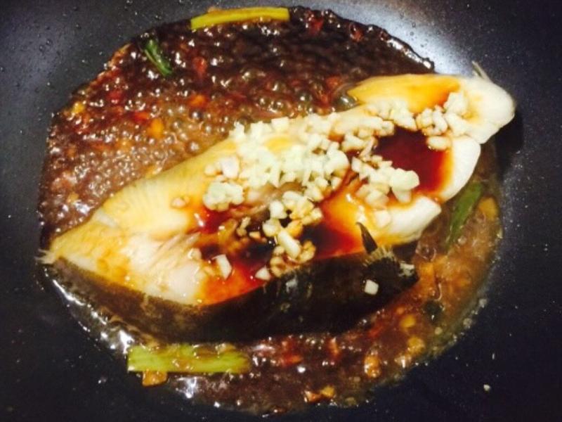 蔥燒鱈魚~超迅速