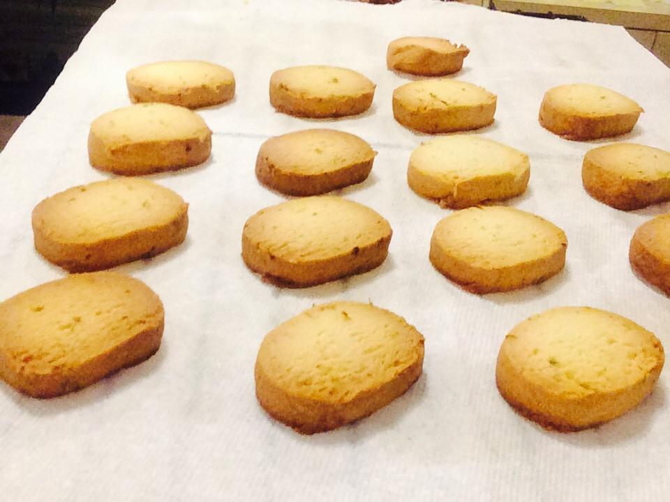 酸甜-青檸脆餅-無蛋減油檸檬香氣