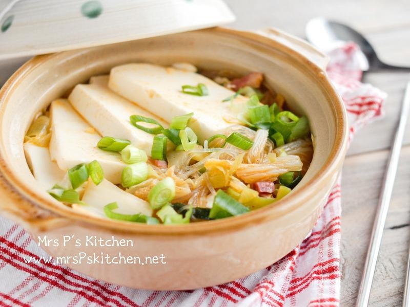 泡菜豆腐冬粉鍋