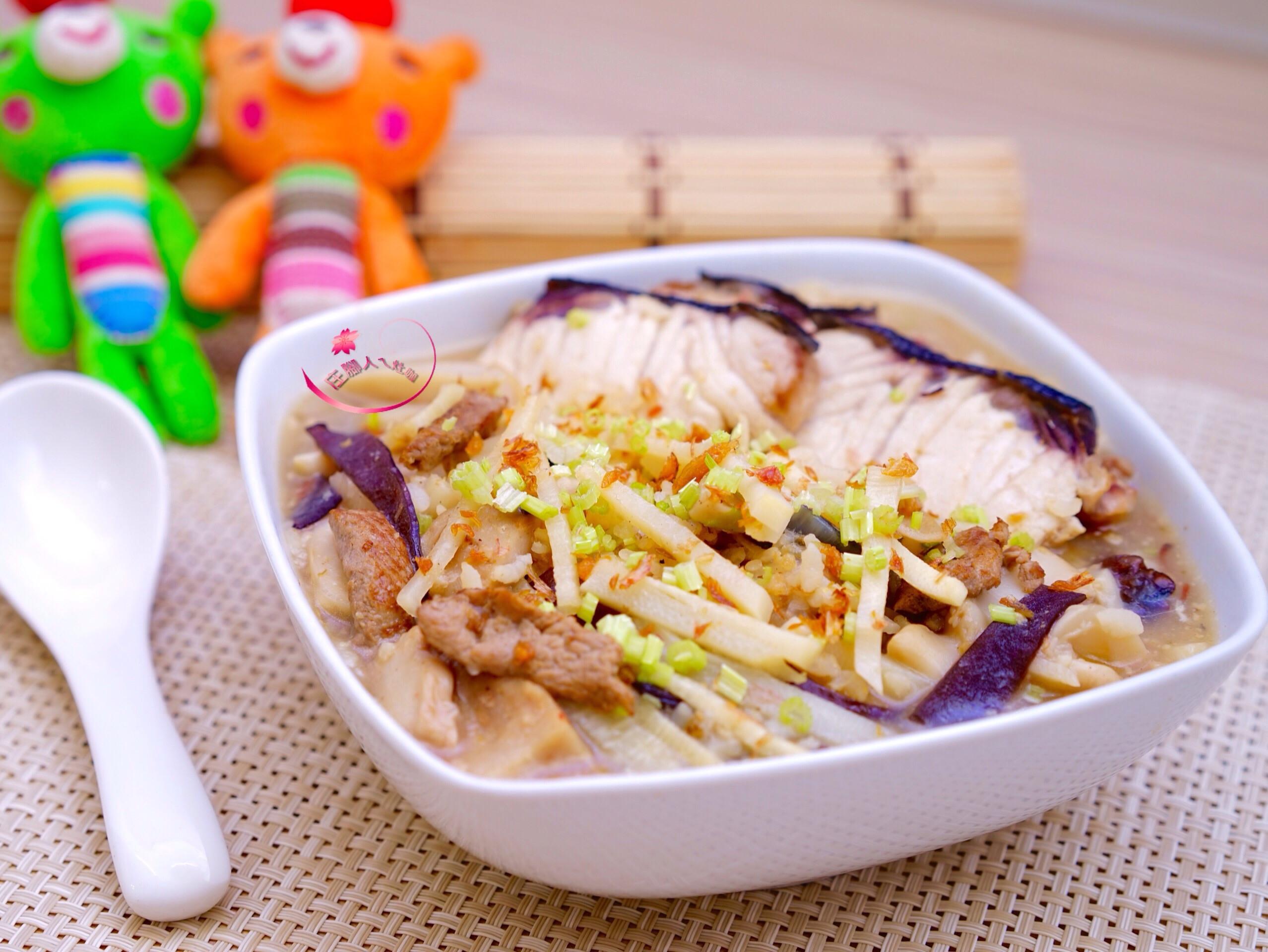 竹筍魚片粥