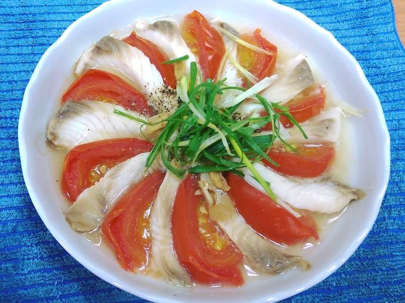 蕃茄鯛魚片(電鍋料理)