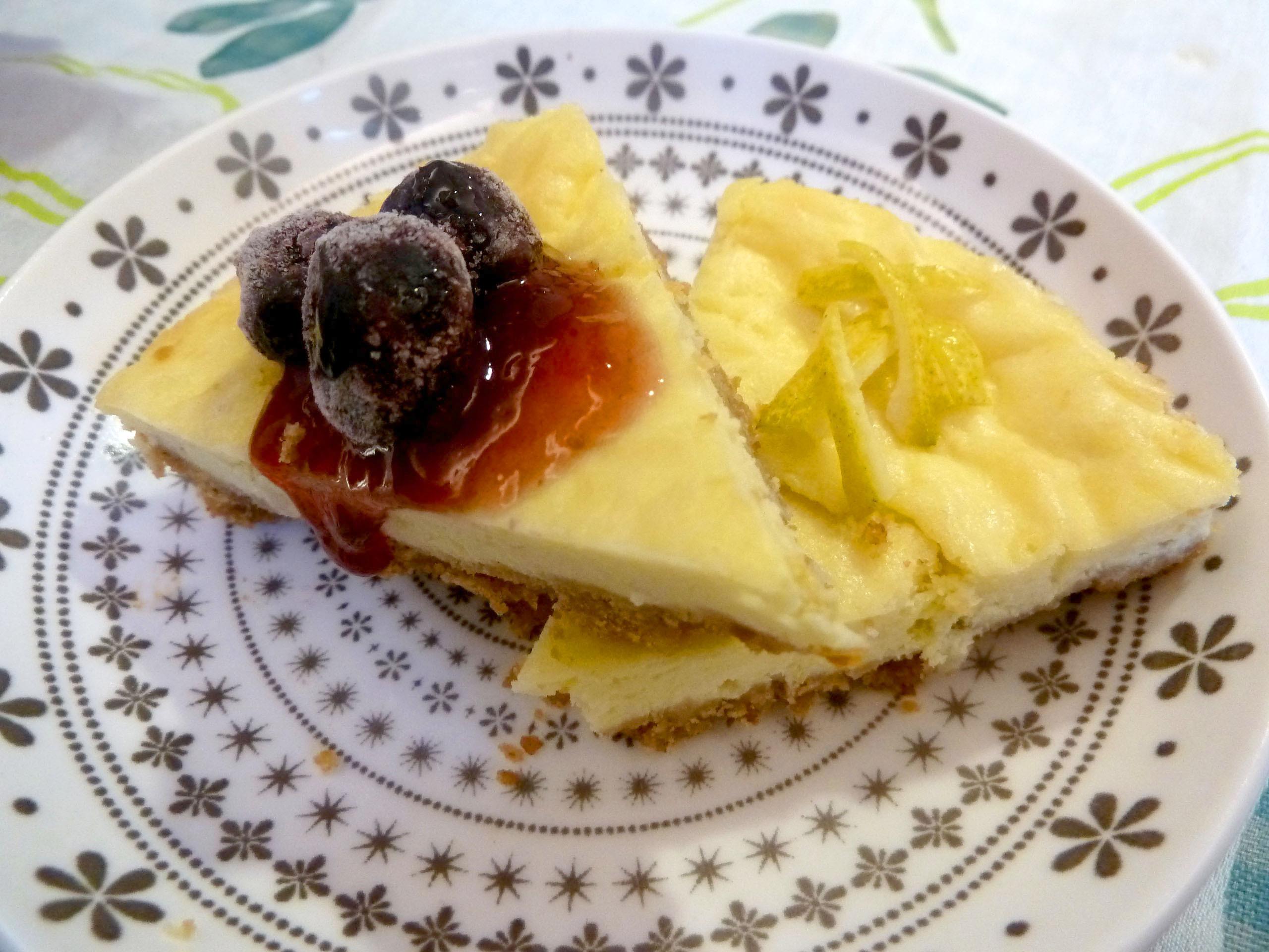 《永新沙拉》檸檬起司蛋糕