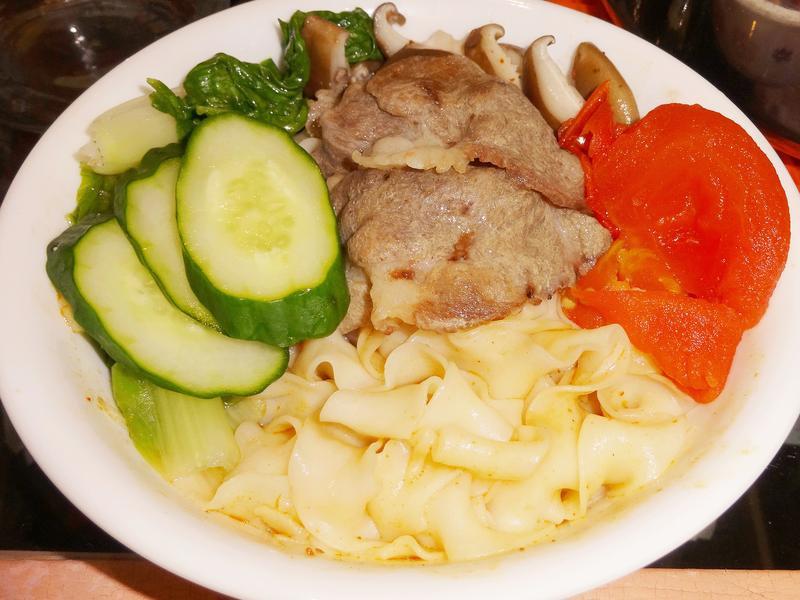 彩蔬豬肉麻辣寬捲麵【五木拉麵】