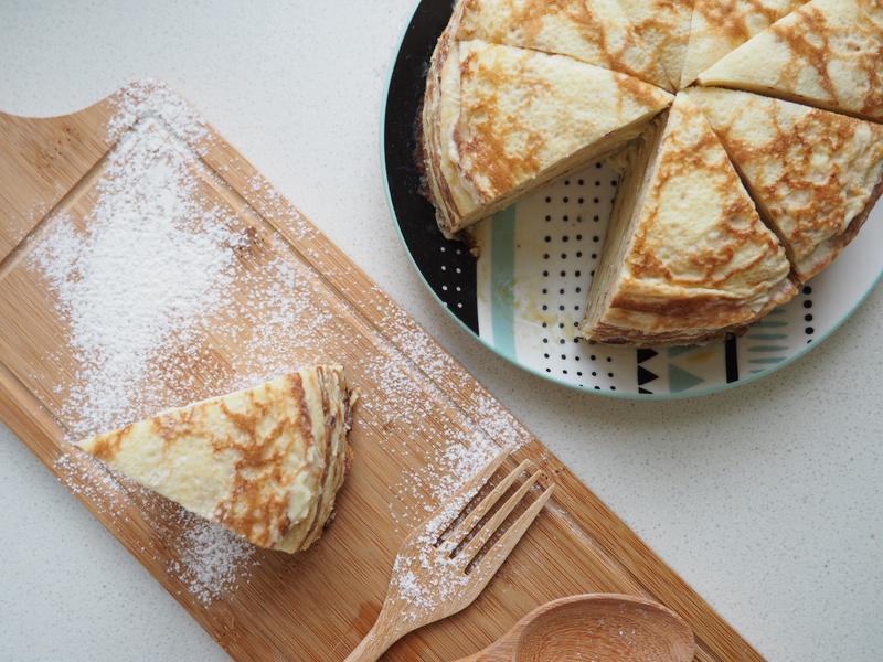 榴櫣千層蛋糕