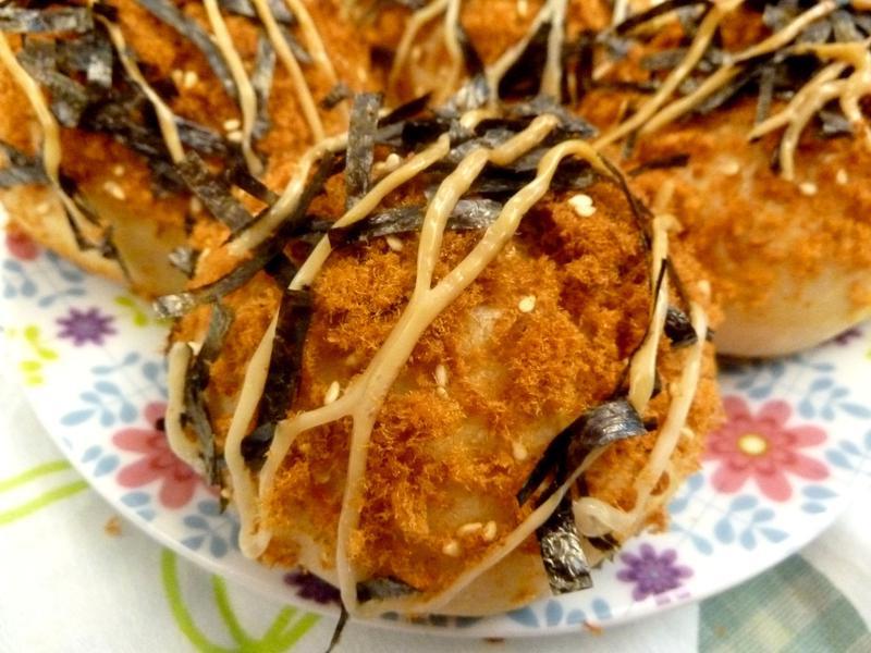 《永新沙拉》魚鬆芝麻海苔小麵包~低油配方